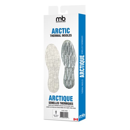 ARCTIC THERMAL INSOLES - ASSORTED SIZES